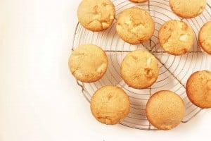 Glutenvrije cupcakes met appel