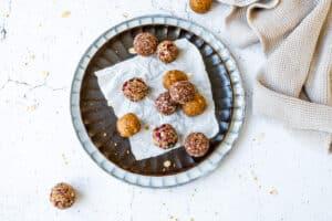 3x energy balls (glutenvrij en zonder toegevoegde suikers)