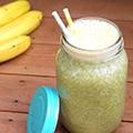 Ananas-munt smoothie