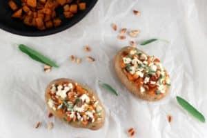 Aardappel met herfstvulling