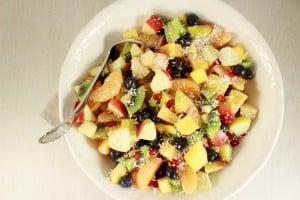 Winterse fruitsalade