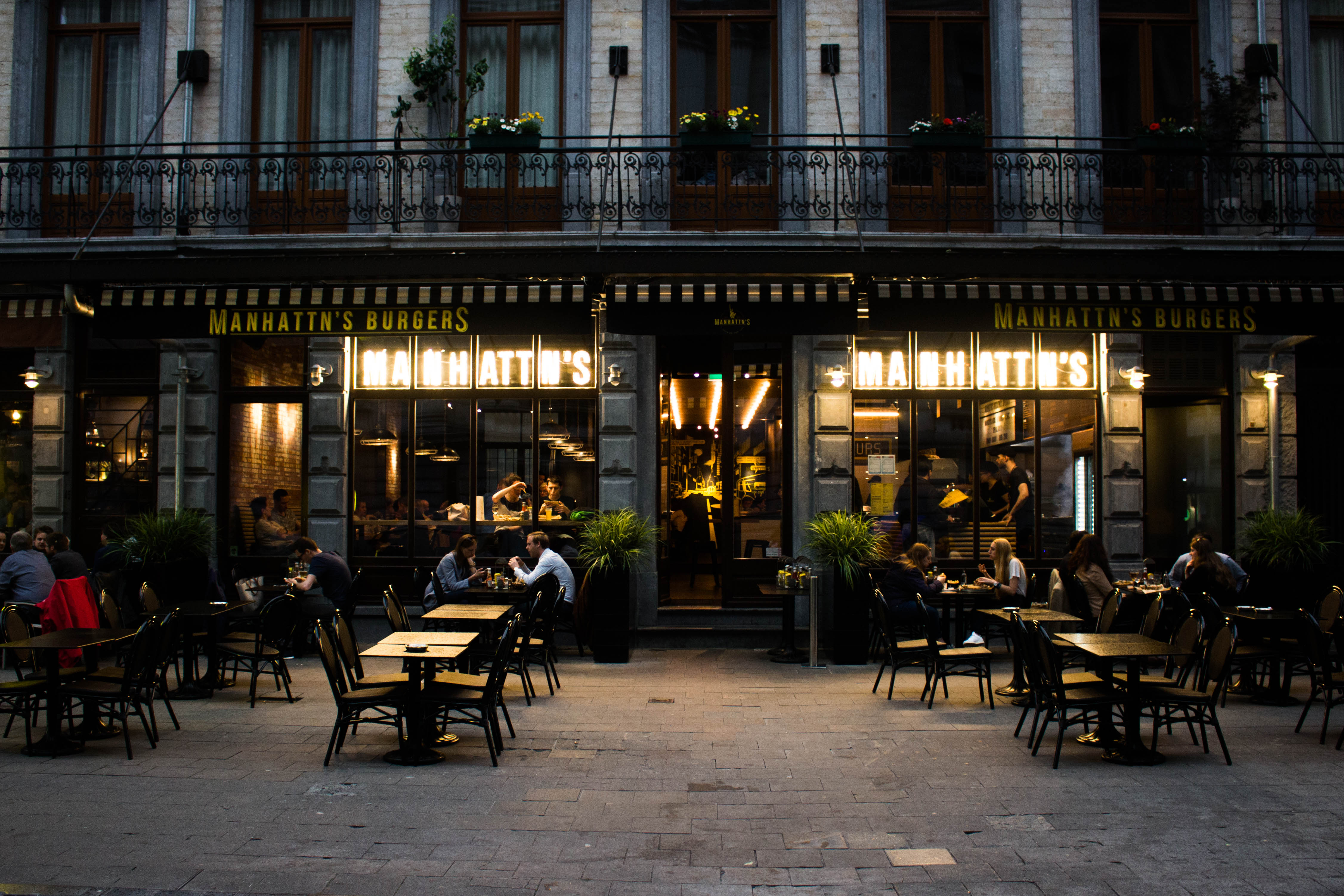 Hotspot: Manhattn's (Brussel)