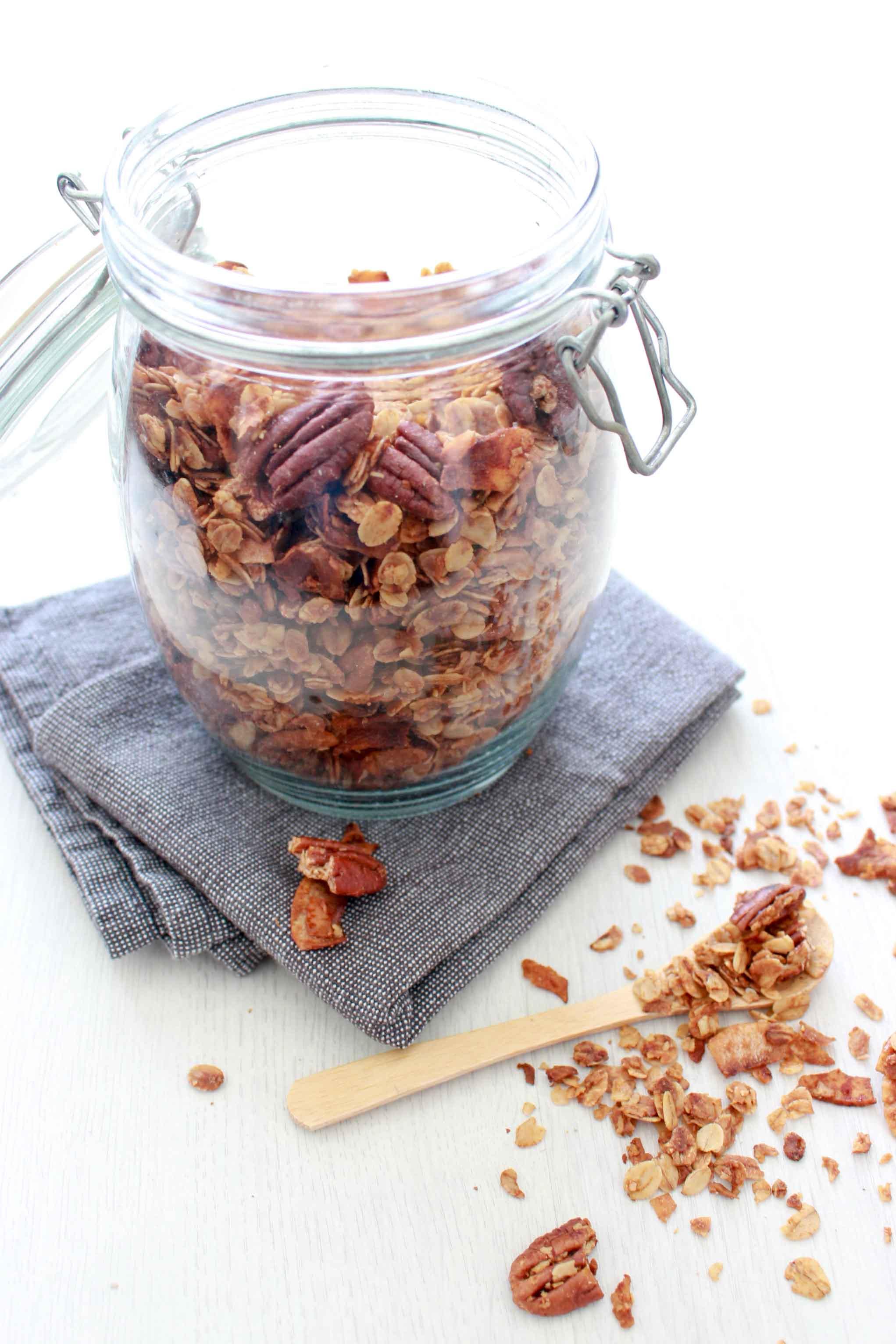 granola met kokos en pecan-3