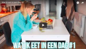 Vlog: Wat ik eet op een dag #1