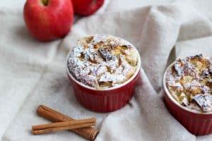 Appel kaneel ontbijttaartje