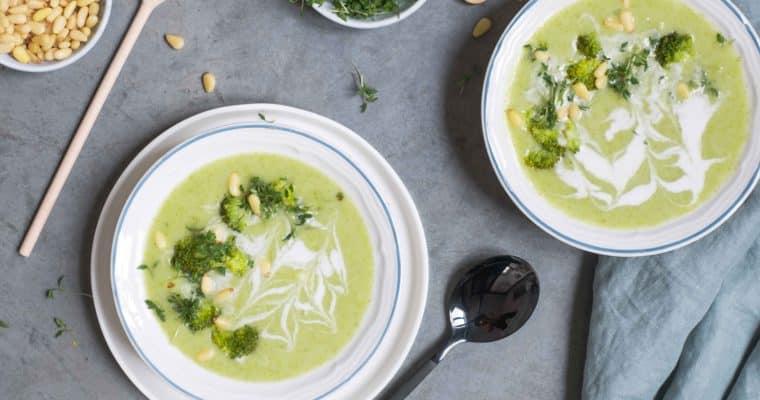 Broccoli pastinaak soep