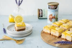 Citroen cheesecake met lavendel