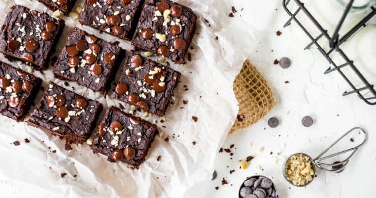 Healthy brownies (met secret ingredient!)