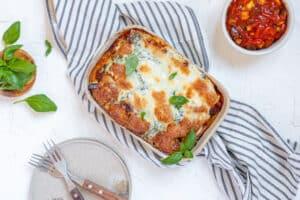 De lekkerste veggie lasagne