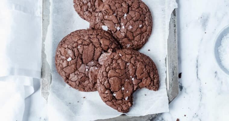 Chocolate brownie koekjes