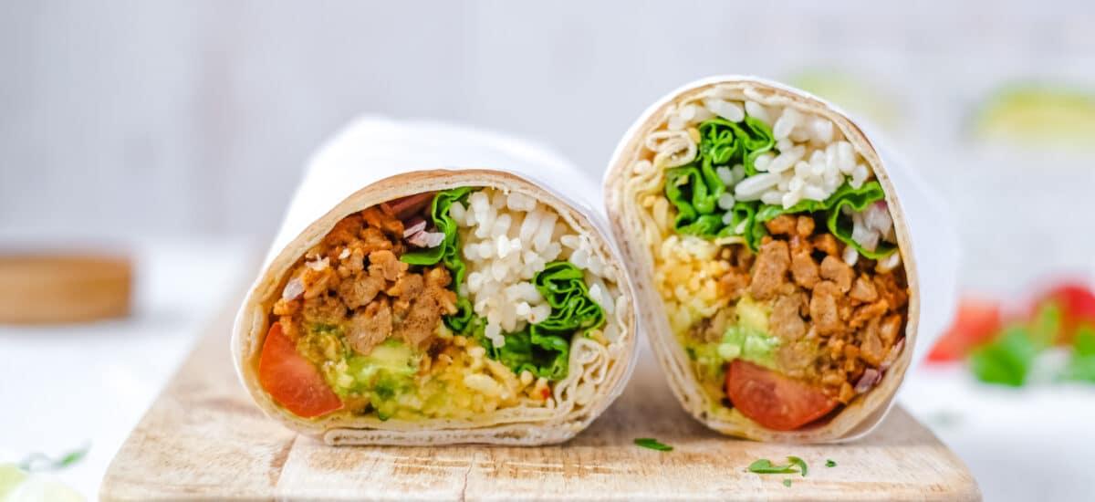 Vegetarische burrito
