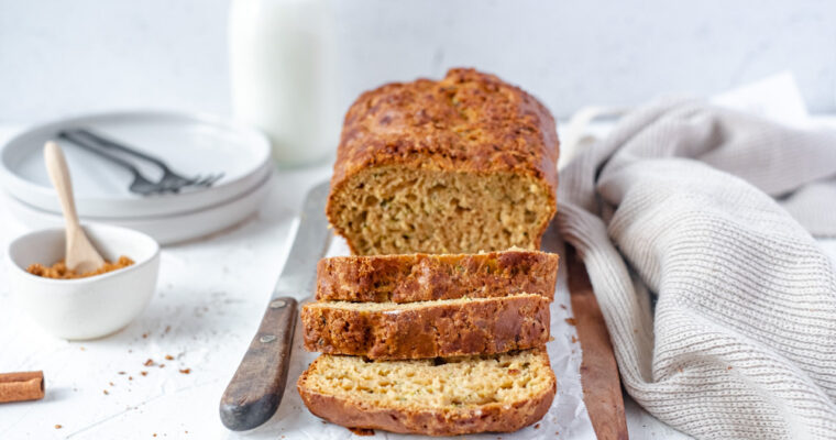 Courgette cake als ontbijt